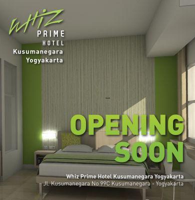 Opening Soon Whiz Prime Hotel Kusumanegara Yogyakarta