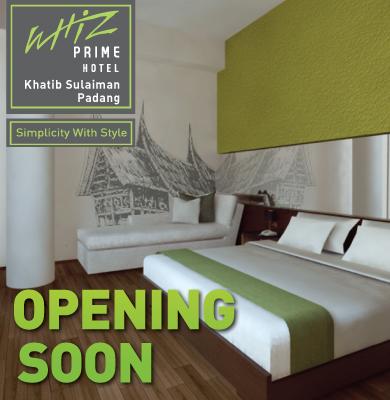 Opening Soon Whiz Prime Khatib Sulaiman Padang