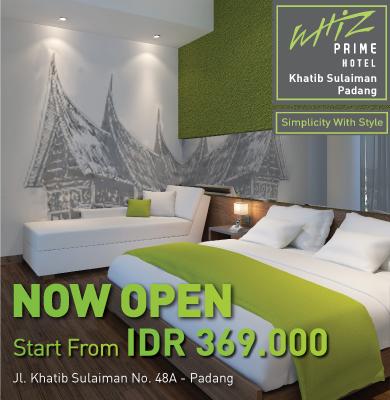 Now Open Whiz Prime Khatib Sulaiman Padang