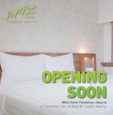 Opening Soon Whiz Hotel Falatehan Jakarta